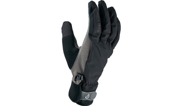 All Weather Cycle Glove Women, Black/Grey 1