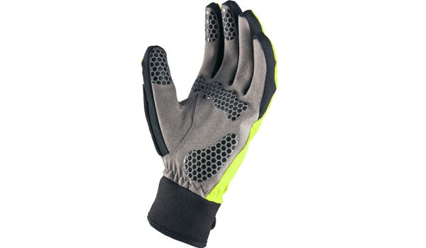 All Weather Cycle Glove Women, Black/Yellow 6