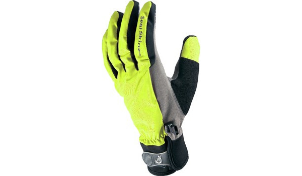 All Weather Cycle Glove Women, Black/Yellow 4