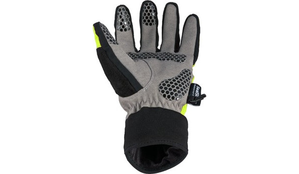 All Weather Cycle Glove Women, Black/Yellow 3