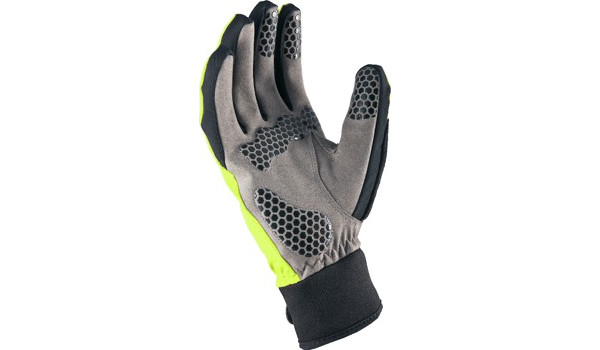 All Weather Cycle Glove Women, Black/Yellow 2