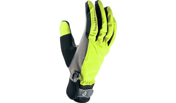 All Weather Cycle Glove Women, Black/Yellow 1