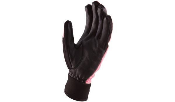 All Weather Riding Glove Women, Pink/Black 6