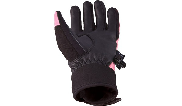 All Weather Riding Glove Women, Pink/Black 3