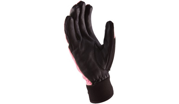 All Weather Riding Glove Women, Pink/Black 2