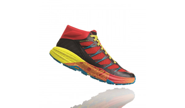 Speedgoat Mid WP Men, Chinese Red/Caribbean Sea 4