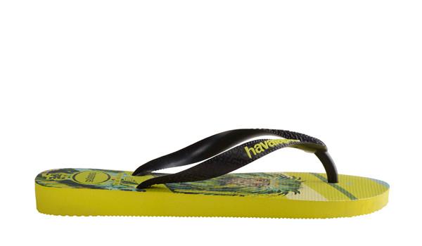 Ipe Flip, Neon Yellow/Black 2
