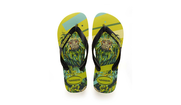 Ipe Flip, Neon Yellow/Black 4