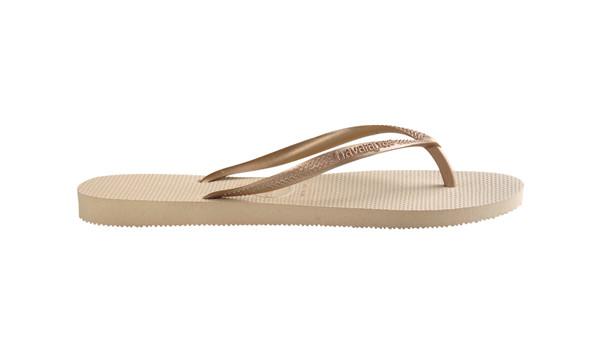Slim Flip, Sand Grey/Light Gold 2