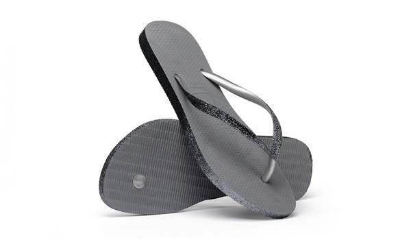 Slim Sparkle II Flip, Steel Grey 1