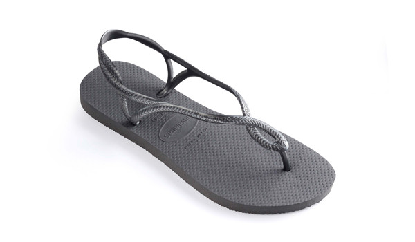 Luna Sandal, Steel Grey 3