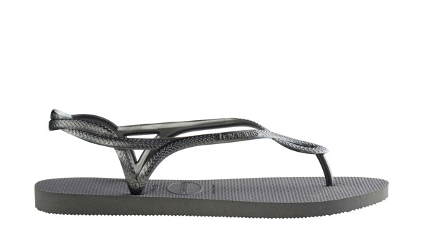 Luna Sandal, Steel Grey 2