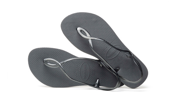 Luna Sandal, Steel Grey 1