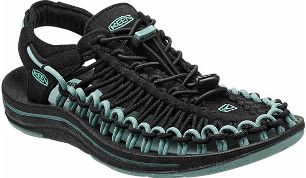 Uneek Women, Black/Mineral Blue 5